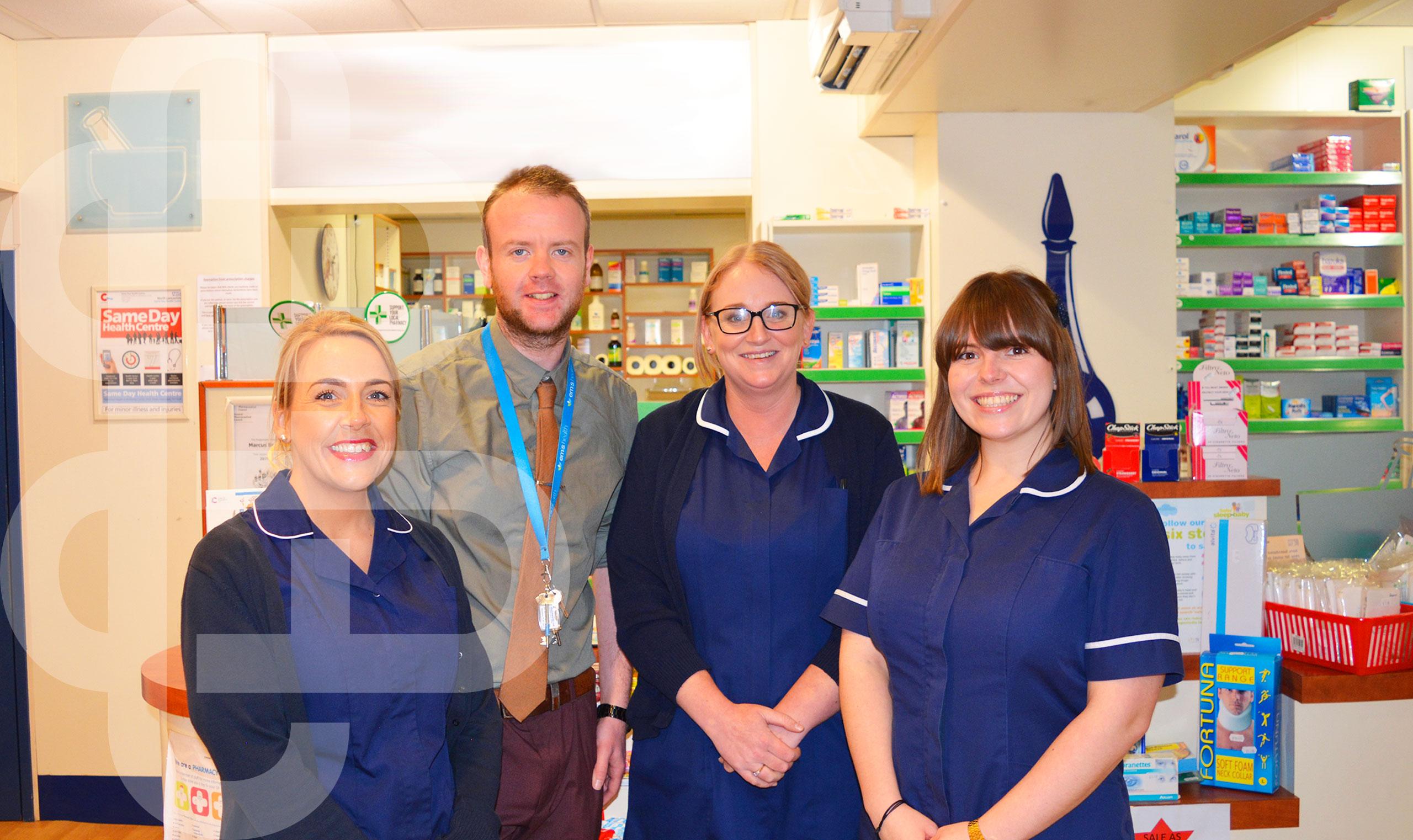 O'Brien's Pharmacy Warburtons Pharmacy Team