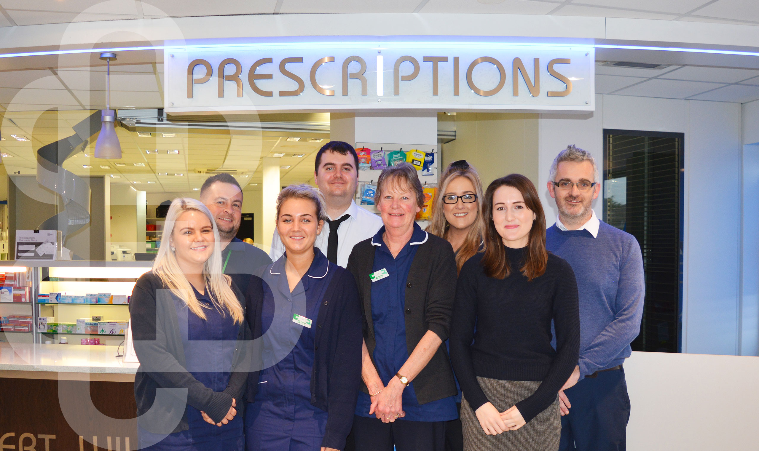 O'Brien's Pharmacy Fleetwood Albert Wilde Team