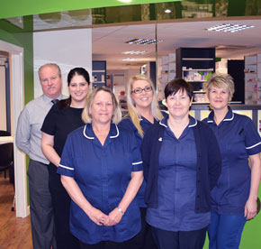 O'Brien's Pharmacy Fleetwood Health Centre Team